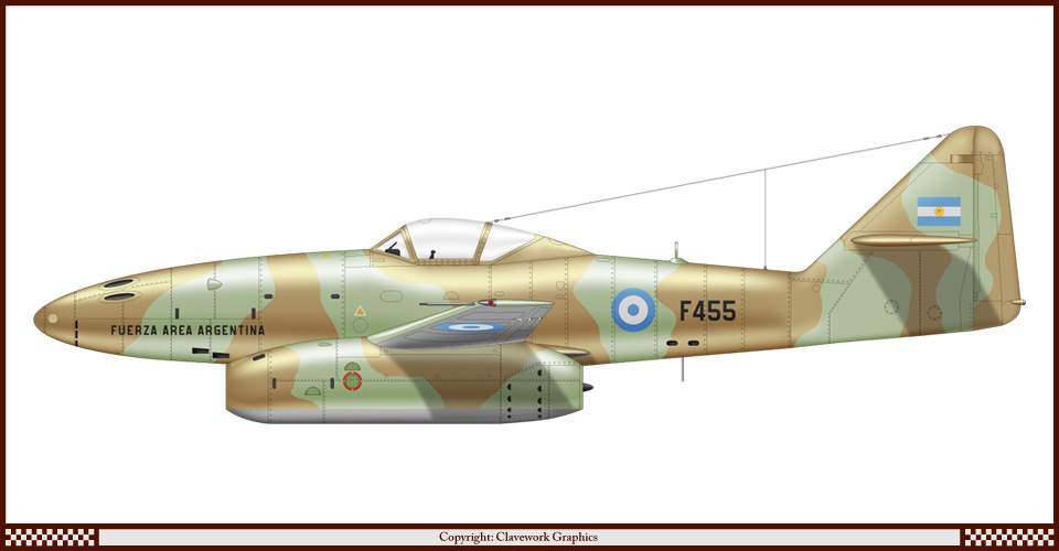 Argentine Air Force Aircraft Profiles on 455 html